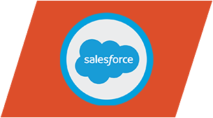 Salesforce cloud based CRM logo