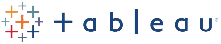 Tableau interactive data visualization software logo